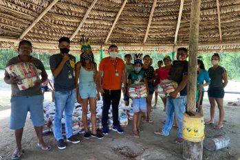 Aldeias indígenas do AM recebem alimento para diminuir impacto causado pela pandemia