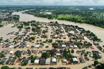 Acre faces flooding of rivers, migratory crisis and dengue infection and Covid-19 (Reproduction / Secom-AC)
