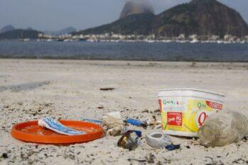 Os dados, divulgados nesta quinta-feira, 25, são do projeto Lixo Fora D'Água, da Abrelpe, iniciado em 2018 (Fernando Frazão/Agência Brasil)