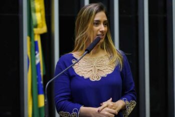 Deputada Federal Flávia Arruda. (Reprodução/Renan Mota)