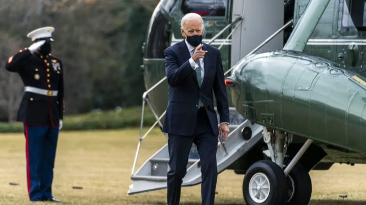 O presidente dos Estados Unidos (EUA), Joe Biden (Foto: AP Photo/Andrew Harnik)