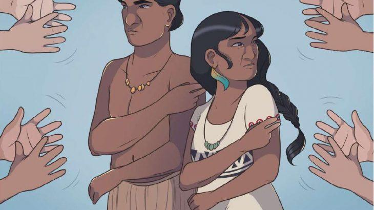 HQ está na língua indígena de sinais da etnia terena e em Libras (HQ Língua Indígena de Sinais)