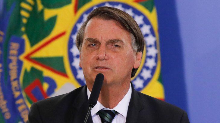 O pronunciamento foi transmitido ao vivo para o evento virtual da ExpoZebu, organizado pela Associação Brasileira dos Criadores de Zebu (Sérgio Lima/Poder360)