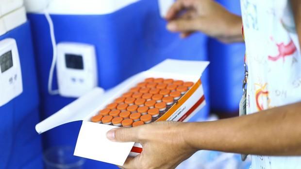 As doses adquiridas pelo setor privado deverão ser integralmente doadas ao SUS enquanto estiver em curso a vacinação dos grupos prioritários (Reprodução/ Internet)