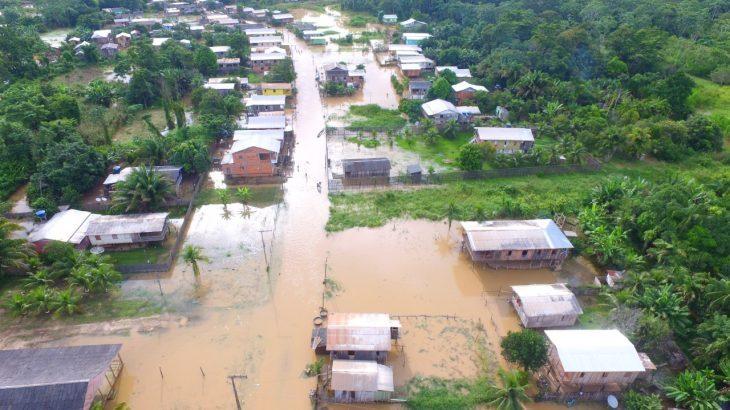 Município de Boca do Acre, no Amazonas, está em Situação de Emergência (Reprodução/Defesa Civil)