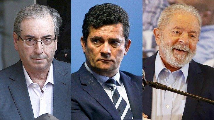 Eduardo Cunha pediu a suspeição de Sergio Moro seguindo os passos da defesa do ex-presidente Lula (Reprodução/Internet)