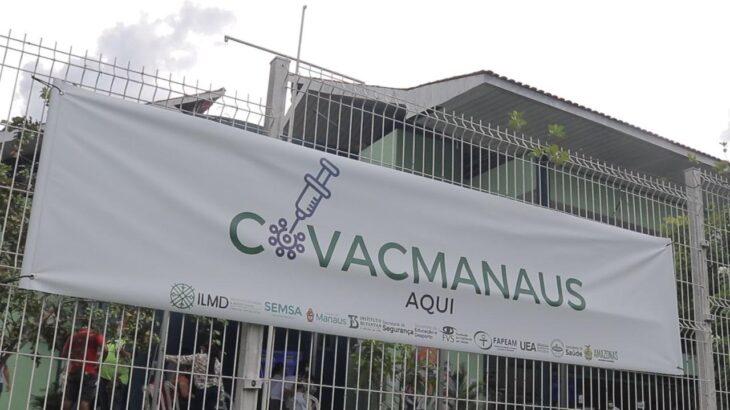 Nesta semana, o estudo CovacManaus atingiu a marca de 2,98 mil participantes vacinados (Carlos Soares/SSP-AM)