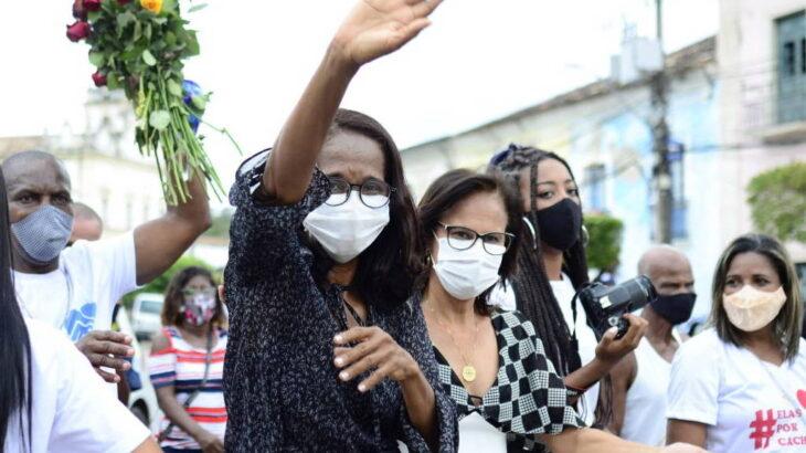 Prefeita de Cachoeira (BA), Eliana Gonzaga é alvo de ameaças e sofre pressão por renúncia (Divulgação/ Prefeitura de Cachoeira)