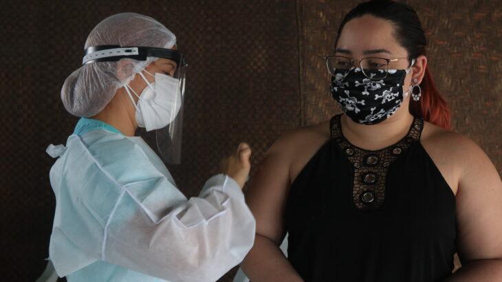 Portadores de comorbidades acima de 18 anos, serão vacinados contra a Covid-19 até o próximo sábado. (Ricardo Oliveira/Revista Cenarium)