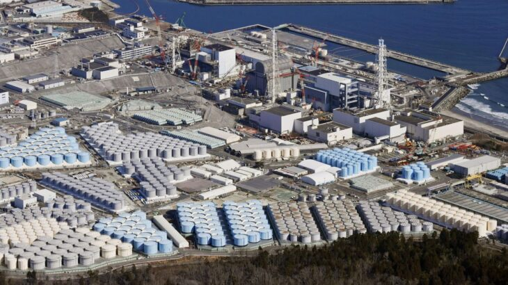 A primeira liberação de água acontecerá em cerca de dois anos  (Kyodo/via REUTERS)