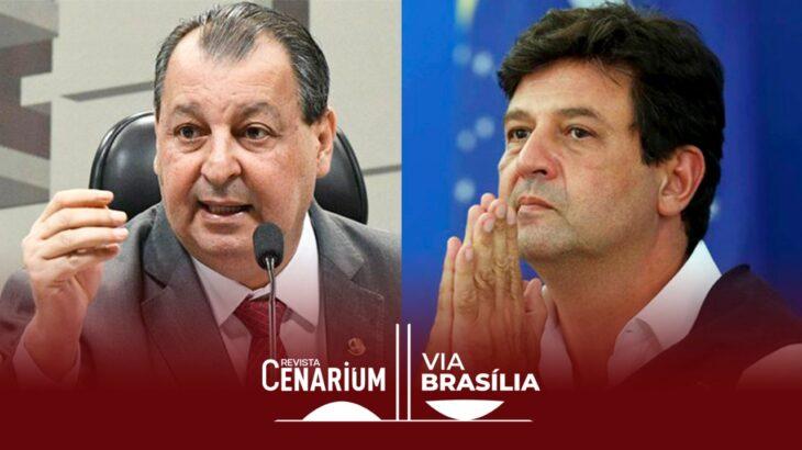 A coluna entrevistou o senador amazonense diretamente da residência dele em Brasília (Reprodução/Internet)