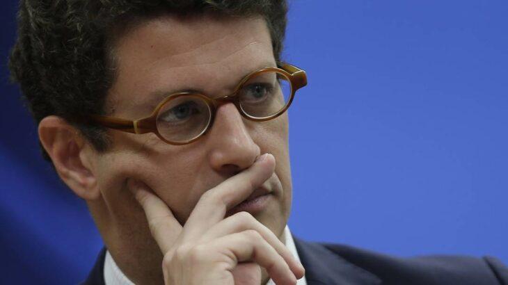 Salles já é alvo de um inquérito no Supremo, sob a relatoria do ministro Alexandre de Moraes, sobre suspeita de facilitação para exportação ilegal de madeira (Jorge William/Agência O Globo)