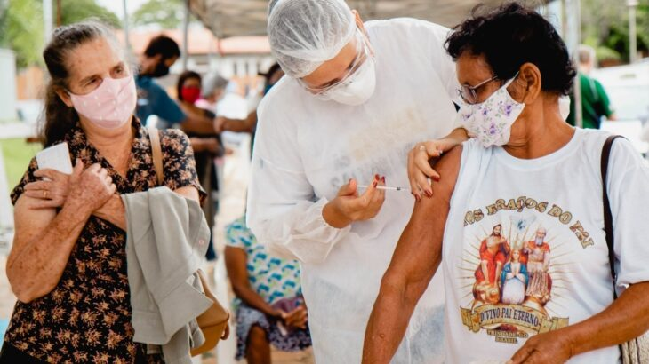 Dos nove Estados que compõem a região Amazônica o Amazonas é o que mais aplicou a segunda dose da vacina. (Reprodução/Prefeitura de Vilhena - RO)