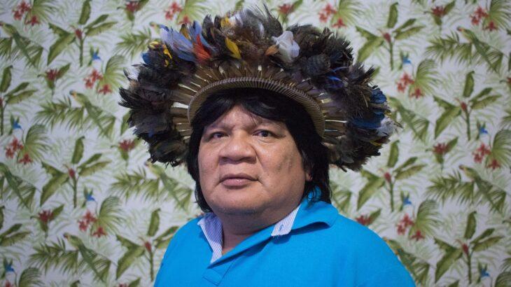 Almir Suruí é um dos maiores líderes indígenas do Brasil. (Reprodução/Associação de Defesa Etnoambiental Kanindé)
