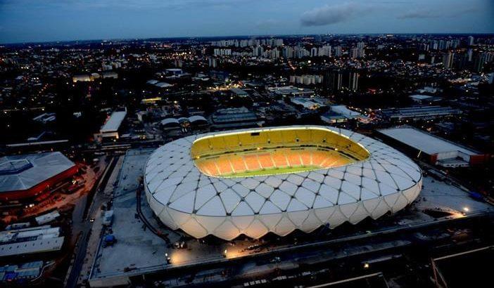 Arena da Amazônia. (Acervo Grupo Stadia)