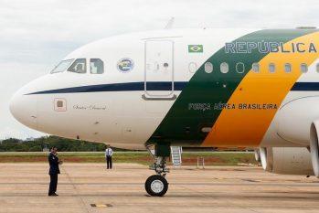 Avião da Força Aérea Brasileira (FAB) (Clauber Cleber Caetano/PR)