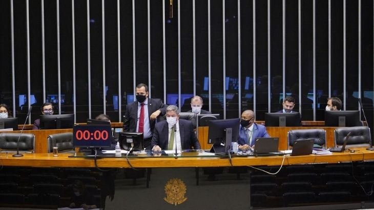 A MP foi aprovada , por 313 votos a 166, e será enviada agora para análise e votação no Senado (Pablo Valadares)