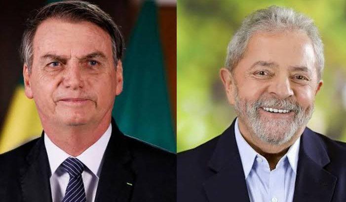Pesquisa mostra ex-presidente Lula muito à frente de Bolsonaro(Reprodução/Arquivo Folha de Pernambuco)