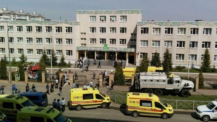 Mais de 30 pessoas ficaram feridas na cidade de Kazan (Alexey Nasyrov/Reuters)