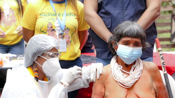 A vacinação de indígenas é desafio na busca pela imunização contra a Covid-19 (Bruno Cecim/Ag. Pará/Fotos públicas)