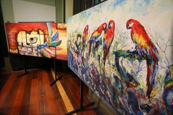 Diversas opções de mostras estão em exposição nos centros culturais de Manaus (Michael Dantas/Secom-AM)