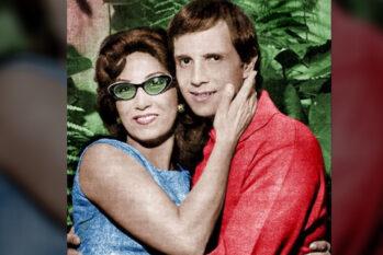 Lady Laura e Roberto Carlos em maio de 1996 (Reprodução/Instagram)