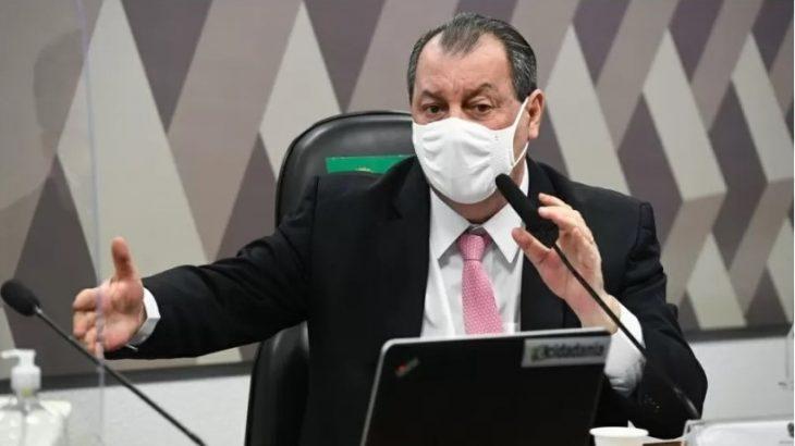 Omar Aziz: há responsabilidade dos contrários ao lockdown  pelas mortes por Covid em Manaus (Jefferson Rudy/Agência Senado)