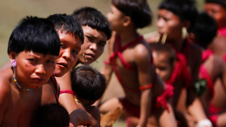 The violence in the region was once again denounced by the Yanomami Hutukara people (Adriano Machado/Reuters)
