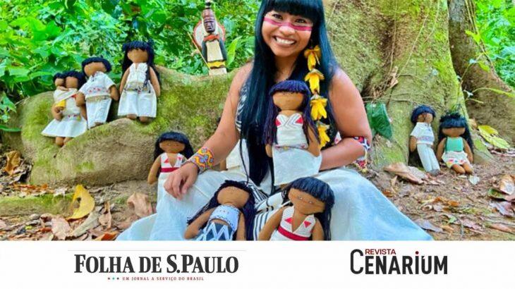 A Folha de São Paulo exibiu, em maio deste ano, hábitos e costumes da produção artística (Divulgação/Reprodução)
