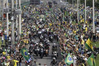 Somente em abril, mês mais letal da pandemia no País, foram seis agendas fora de Brasília. Em maio, elas já somam oito (Domingos Peixoto/Agência O Globo)
