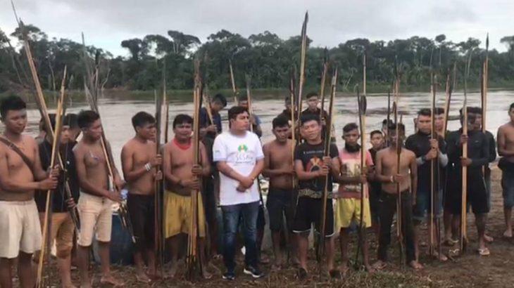 Indígenas yanomamis que moram na comunidade Palimiú, no noroeste de Roraima (Reprodução/Internet)