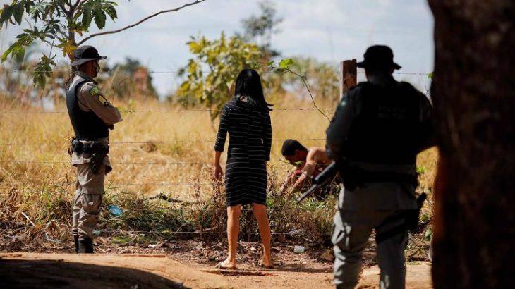Duas pessoas foram detidas sob a suspeita de ajudar Lázaro a escapar do cerco (Sergio Lima/AFP)