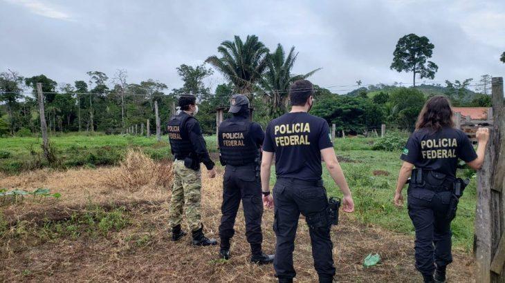 Os policiais identificaram a liderança do grupo, além de um advogado apontado como o responsável por dar o aval à invasão. Reprodução/Polícia Federal)