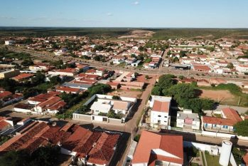 Barra do Mendes, cidade natal de Lázaro (Reprodução/Folha de Pernambuco)