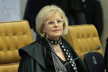 Ministra Rosa Weber, durante sessão do STF. (Carlos Moura/SCO/STF)
