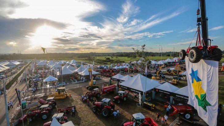 O evento contaria com mais de 500 expositores,100 agroindústrias e 30 instituições financeiras. (Reprodução/Governo de Rondônia)