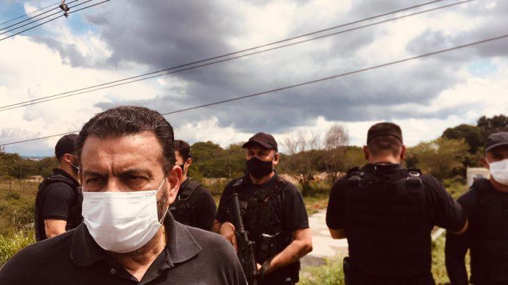 Durante coletiva de imprensa, o coronel responsável pela segurança do Estado se pronunciou (Ricardo Oliveira/Revista Cenarium)