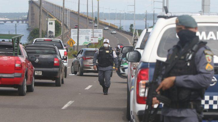 Entre os presos estão alguns dos líderes que comandavam os ataques (Ricardo Oliveira/Revista Cenarium)