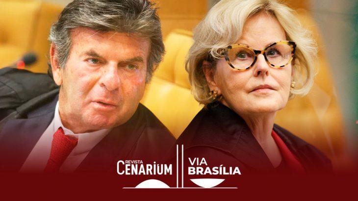 Os ministros do Supremo Tribunal Federal (STF), Luiz Fux e Rosa Weber (Reprodução/Internet)