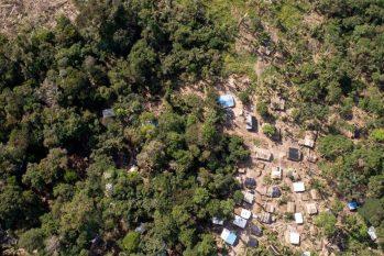"""A tal """"terra prometida"""" fica dentro de uma das unidades de conservação mais bem preservadas da Amazônia, a Floresta Nacional do Jacundá (Brenno Carvalho/Agência O Globo)"""