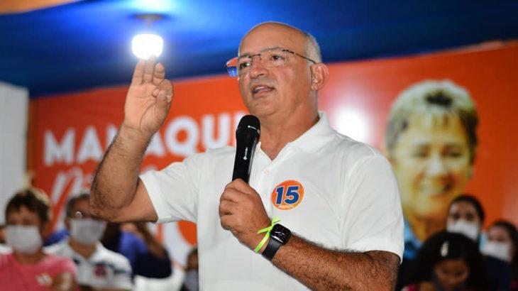 O prefeito do Manaquiri, Jair Souto (MDB) (Reprodução/Facebook)