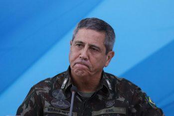 O ministro da Defesa, general Braga Netto (Sergio Lima/AFP)