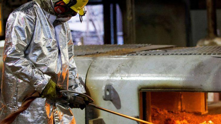 Na siderurgia, produção de aço bruto cresceu 3,5% na primeira metade do ano ante igual período de 2019. (Alexandre Mota/Reuters)