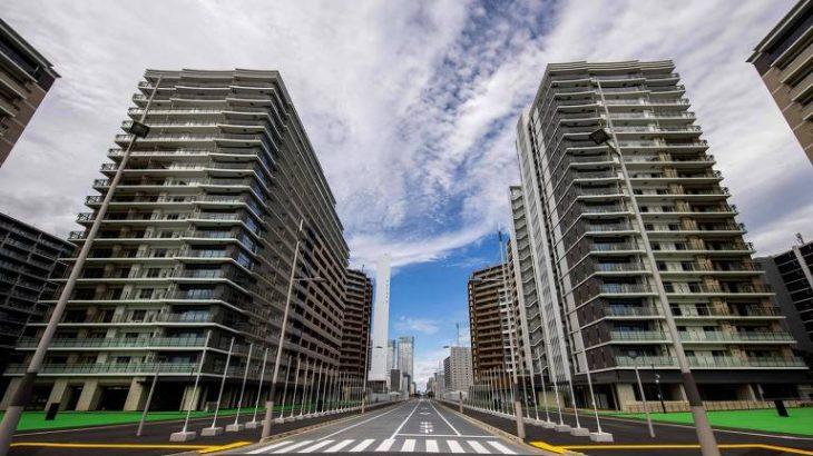Visão geral dos prédios construídos para receberem os atletas olímpicos (BEHROUZ MEHRI/AFP)