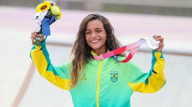 Rayssa Leal conquista medalha de prata em Tóquio (Wander Roberto/COB)
