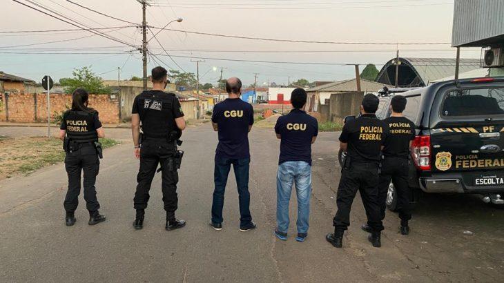 Polícia Federal em Rondônia (Reprodução/Polícia Federal)