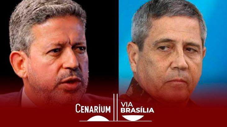 Arthur Lira (PP-AL) e Braga Netto (Reprodução)