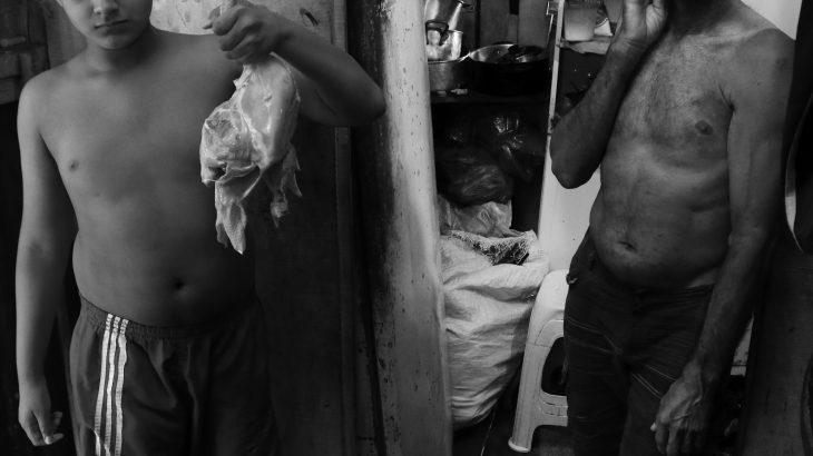 Pandemia de fome –  personagem Manoel Henrique