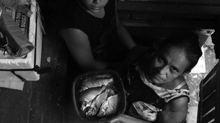 Pandemia de fome – Personagem Ivone Moura