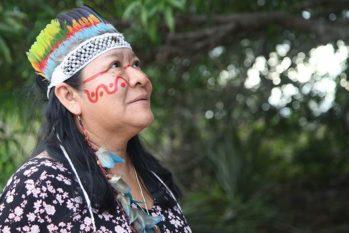 Joênia Wapichana foi eleita deputada estadual por Roraima e referência mundial em Direitos Humanos pela ONU (ONU/Reprodução)